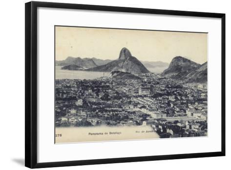 Botafogo; Rio De Janeiro, Brazil--Framed Art Print