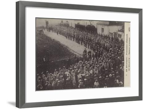 German Pows, Belgium, World War I--Framed Art Print