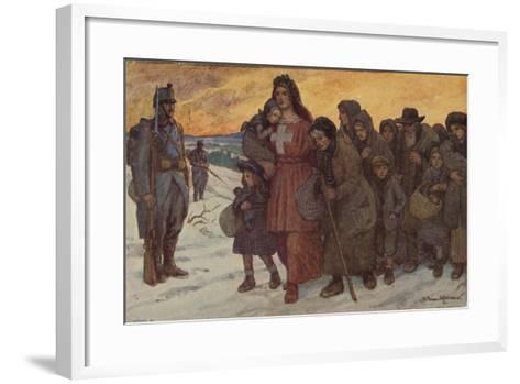 Refugees--Framed Art Print
