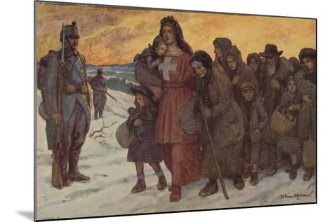 Refugees--Mounted Giclee Print