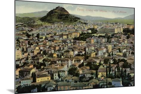 A View of Athens--Mounted Photographic Print