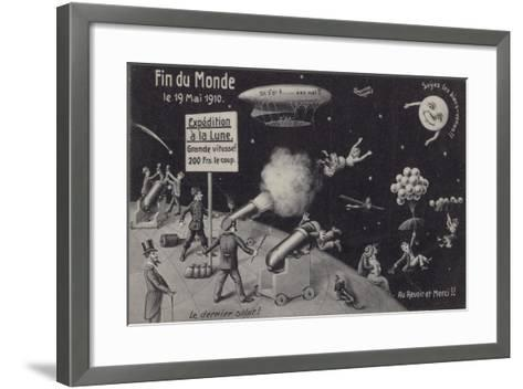 The End of the World, 19 May 1910--Framed Art Print