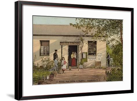 Postcard Depicting Constantia--Framed Art Print