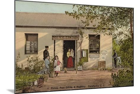Postcard Depicting Constantia--Mounted Photographic Print