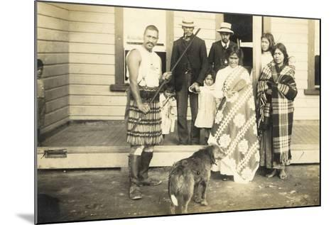 Family Group, C.1920--Mounted Photographic Print