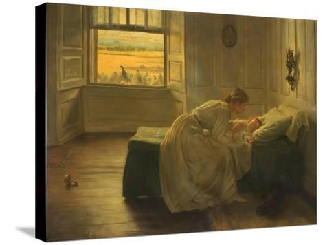 Hush, 1905–-06-John Henry Lorimer-Stretched Canvas Print