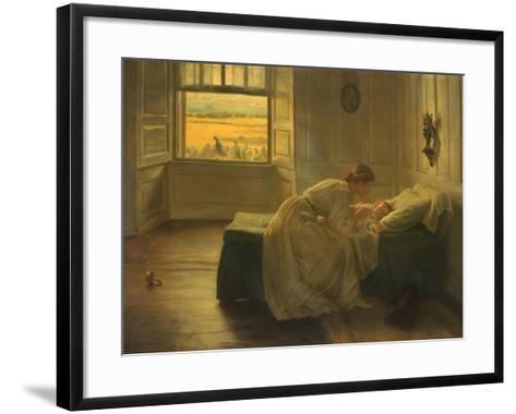 Hush, 1905–-06-John Henry Lorimer-Framed Art Print