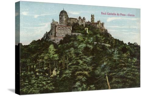 Palace of Pena, Sintra, Portugal--Stretched Canvas Print