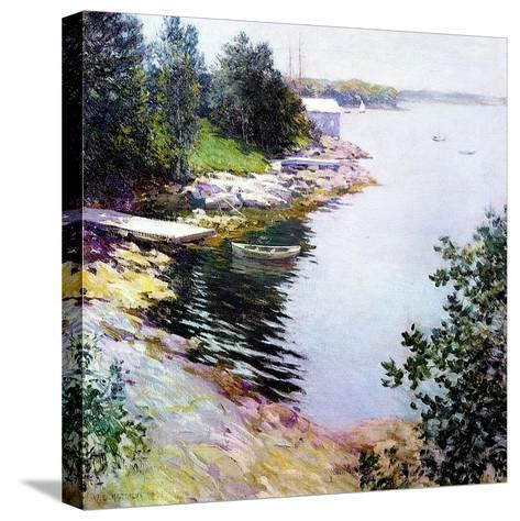 The Little White House, 1919-Willard Leroy Metcalf-Stretched Canvas Print