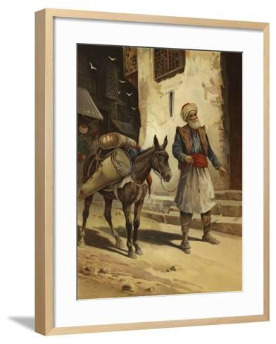 Water Bearer--Framed Art Print