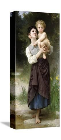 Brother and Sister, 1887-William Adolphe Bouguereau-Stretched Canvas Print