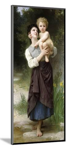 Brother and Sister, 1887-William Adolphe Bouguereau-Mounted Giclee Print
