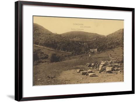 Monastery of San Jeronimo, Cordoba, Spain--Framed Art Print