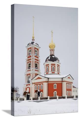 Troicko-Varnicki Monastery--Stretched Canvas Print