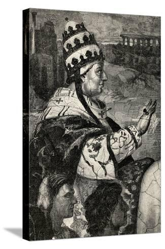 Pope Innocent Iii--Stretched Canvas Print