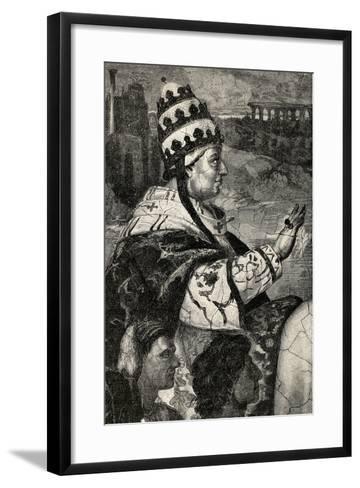 Pope Innocent Iii--Framed Art Print