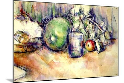 Still Life with a Glass, 1902-06-Paul C?zanne-Mounted Giclee Print