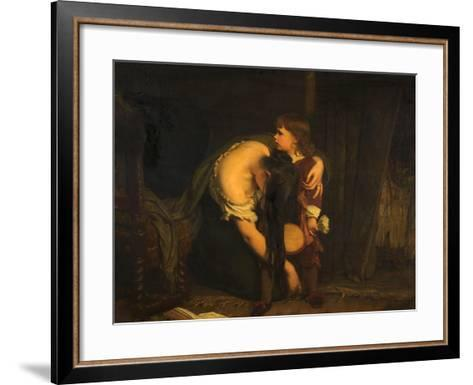 The First Sense of Sorrow, 1862-James Sant-Framed Art Print
