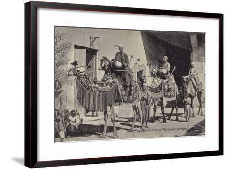 Egypt - Kettle Drummer for Joyful Corteges--Framed Art Print