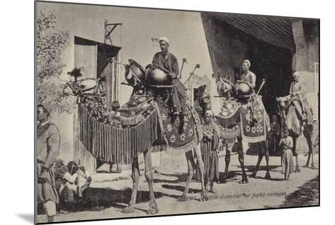Egypt - Kettle Drummer for Joyful Corteges--Mounted Photographic Print
