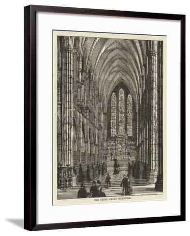 The Choir, Truro Cathedral--Framed Art Print
