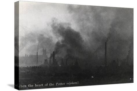 When the Heart of the Potter Rejoices!--Stretched Canvas Print