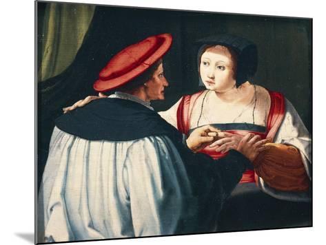 The Engagement, 1527-Lucas van Leyden-Mounted Giclee Print