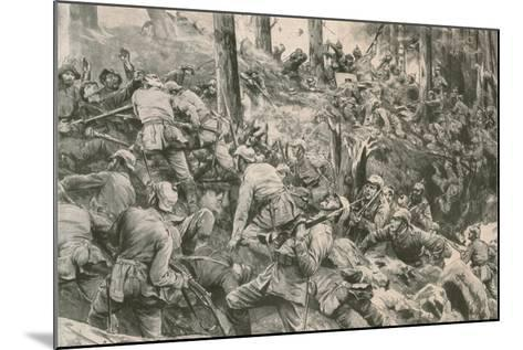 From the Battle in the Vosges--Mounted Giclee Print