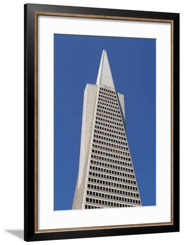 Transamerica Pyramid--Framed Art Print