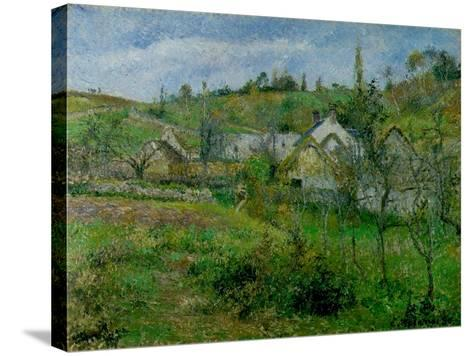 The Valhermeil, Near Pontoise, 1880-Camille Pissarro-Stretched Canvas Print