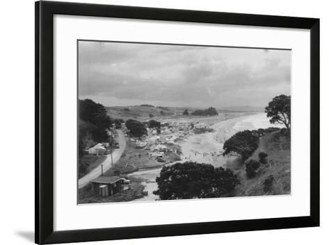 Waipu Cove, C.1940--Framed Art Print