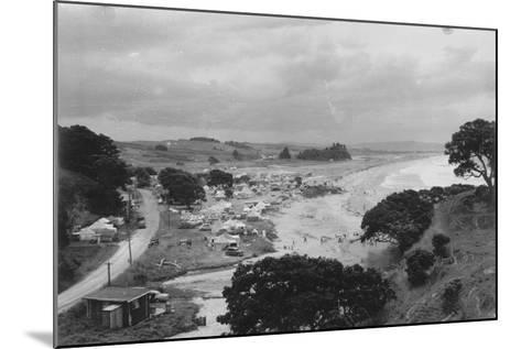 Waipu Cove, C.1940--Mounted Photographic Print