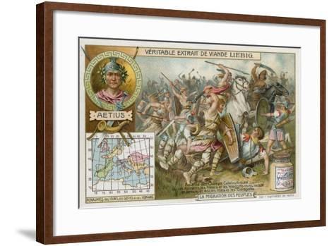 Battle of the Catalaunian Plains, 451--Framed Art Print