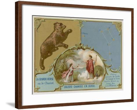 The Big Dipper or the Plough--Framed Art Print
