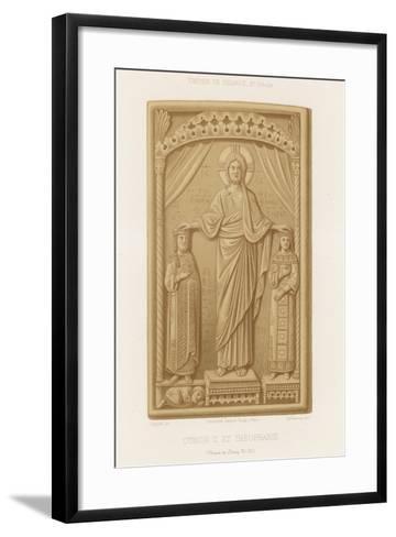 Otto II and Theophanu--Framed Art Print