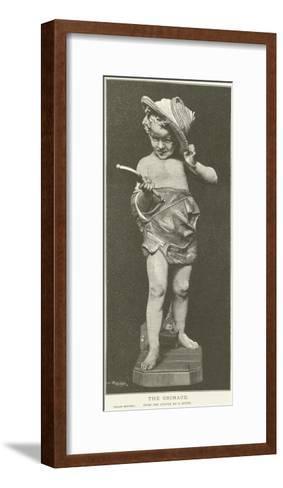 The Grimace--Framed Art Print