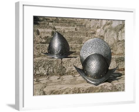 Italy, Brescia, Round Morion--Framed Art Print