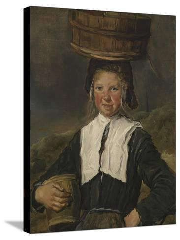Fisher Girl-Frans Hals-Stretched Canvas Print