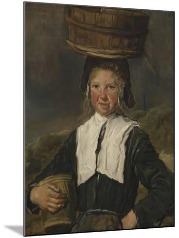 Fisher Girl-Frans Hals-Mounted Giclee Print