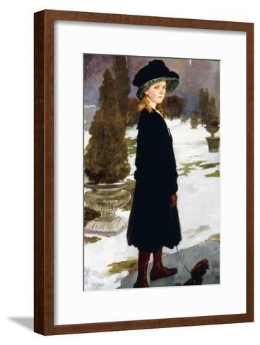 Portrait of Alice Davison-Cecilia Beaux-Framed Art Print