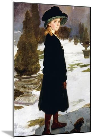 Portrait of Alice Davison-Cecilia Beaux-Mounted Giclee Print