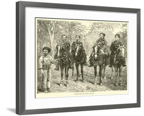 Natives of Honolulu--Framed Art Print