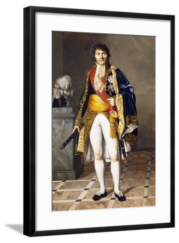 Portrait of Pierre Francois Joseph Lefebvre--Framed Art Print