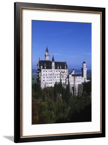 Germany, Bavaria, Neuschwanstein Castle--Framed Art Print