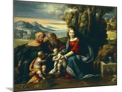 Holy Conversation-Benvenuto Garofalo-Mounted Giclee Print