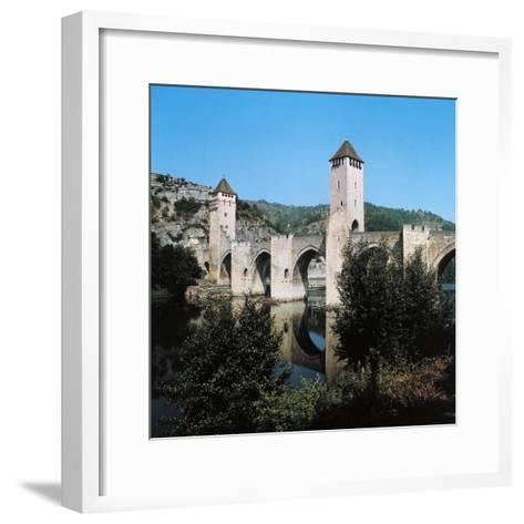 Valentre Bridge--Framed Art Print