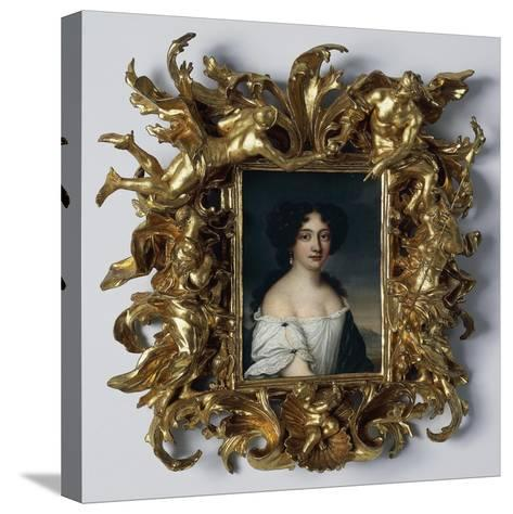 Portrait of Maria Mancini--Stretched Canvas Print