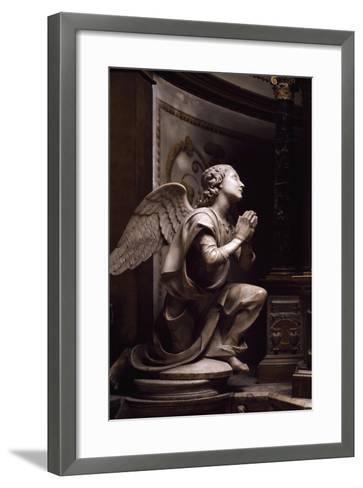 Adoring Angel-Matteo Di Giovanni Civitali-Framed Art Print