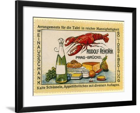 Rudolf Rehorik Wine Bar--Framed Art Print