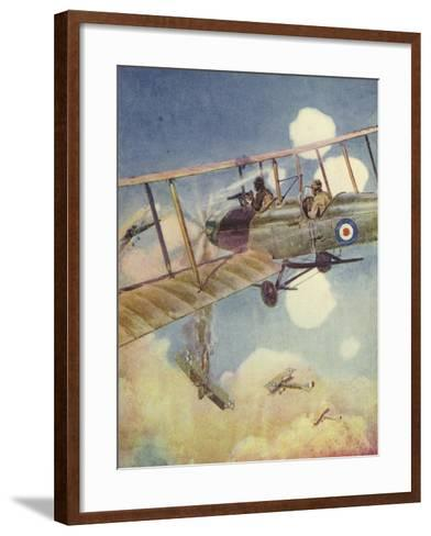 """Another Down!""--Framed Art Print"